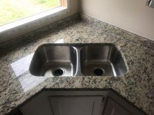 granite countertop undermount