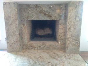 Granite Fireplace Facad Tampa Granite Countertops picture
