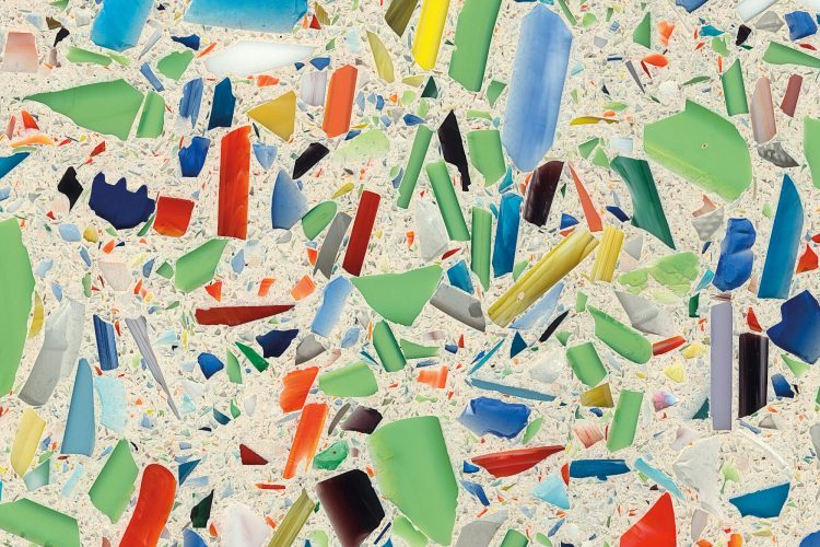 Vetrazzo – Recycled Glass Composite Material for countertops