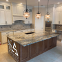 Contrast And Color – Beautiful Exotic Quartzite Kitchen With Full Height Splash