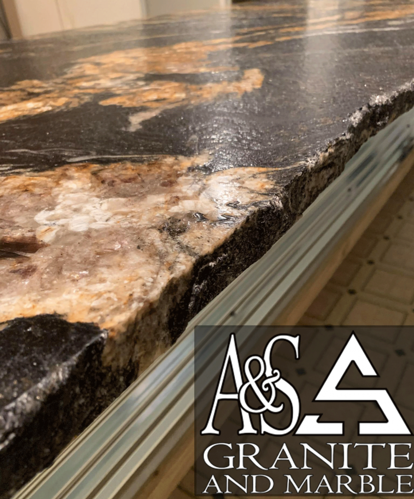 chiseled-edge-magma-gold-leathered-countertops